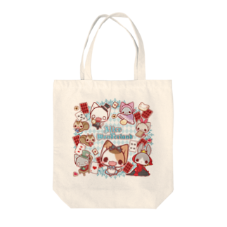 aska/ねこのかんづめのねこかんアリス Tote bags