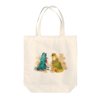 WOLF Holmes & Watson Tote bags