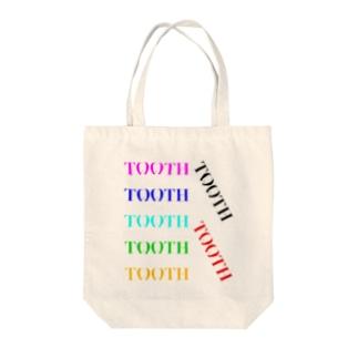 Tooth logoカラフル トートバッグ