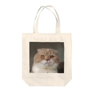 きりっとモコぉ Tote bags