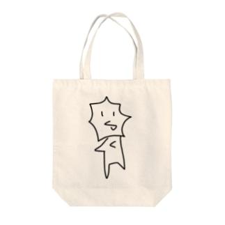 えりまきちゃん Tote bags