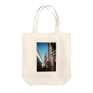 外国の街並み① Tote bags