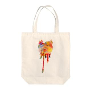 elepheart Tote bags