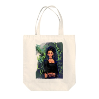 Who caught in a tree Tote bags