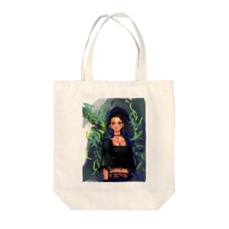 ドミニクのWho caught in a tree Tote bags