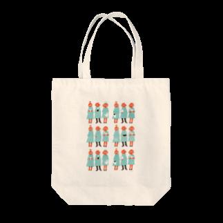 佳矢乃のBoys&Girls Tote bags