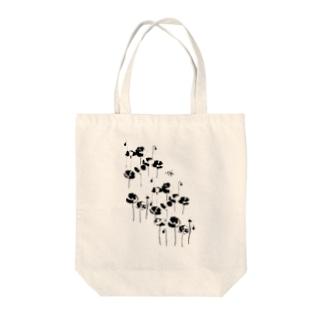 花とみつばち Tote bags