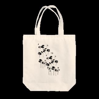 佳矢乃の花とみつばち Tote bags