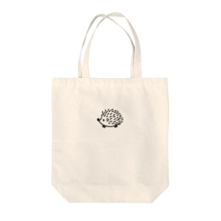 ハリネズミのはりまる。 Tote bags