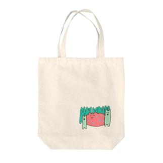カコマレーズ Tote bags