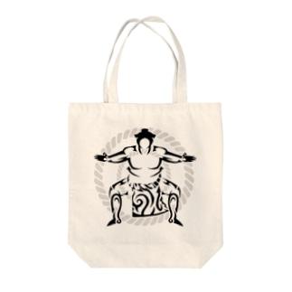 相撲取り  Tote bags