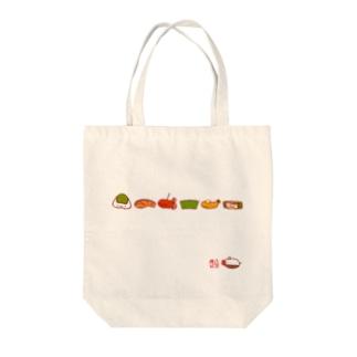 お弁当シリーズ-01 Tote bags