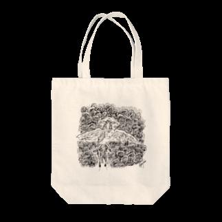 淡波亮作@世界で289883番めのSF作家の羽ロバに乗るリリリ Tote bags