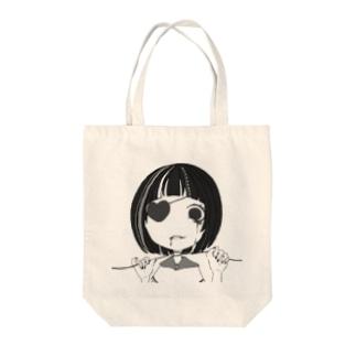 首絞めぼぶちゃん Tote bags
