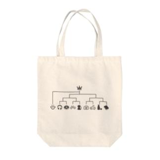 スーパーシードラーメン Tote bags