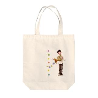 ホルンくんトート Tote bags