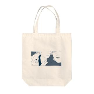 ふたり Tote bags