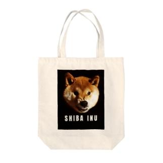 激おこ柴犬 Tote bags
