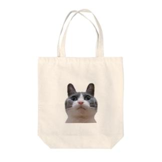 うちの子 Tote bags