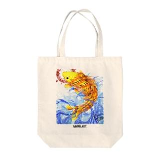 鯉図 Tote bags
