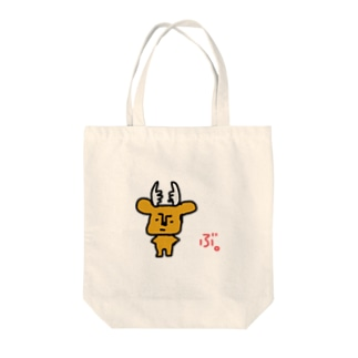 拗らせ鹿BUSHIKA(第1話) Tote bags