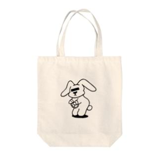 逮捕ちゃん Tote bags