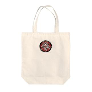 りすしっぽしぇんしぇいのどんぐり工房のChibiMETAL(ちびめた) Tote bags