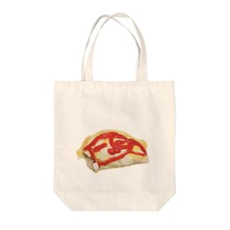 オムライヌ Tote bags