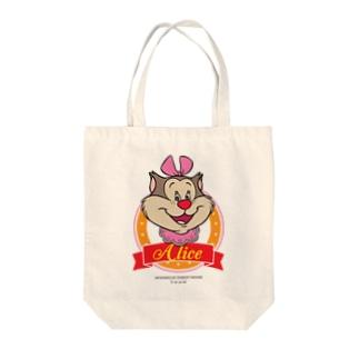 アリス(サークル) Tote bags