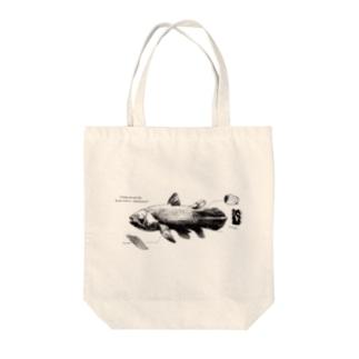 シーラカンス Tote bags