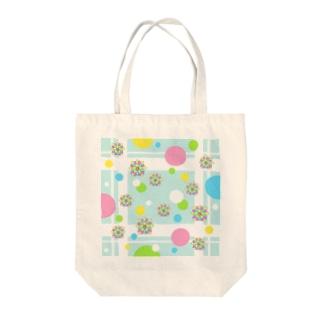 水花 Tote bags
