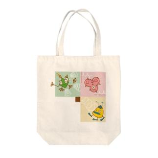 宇宙人(all) Tote bags