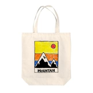 Mountain▲ Tote bags