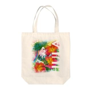 HULA Tote bags