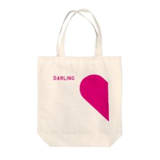 LOVE(男性用) Tote bags