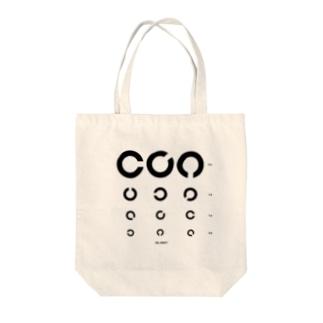 視力検査 Tote bags