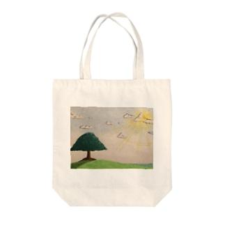 陽の光。 Tote bags