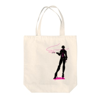 ins.のコルセット男子 Tote bags