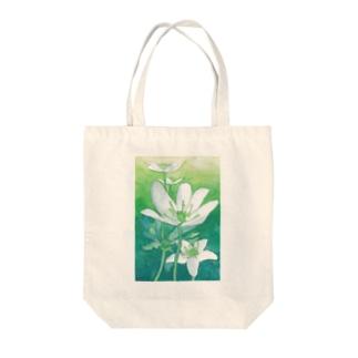 ニリンソウ Tote bags