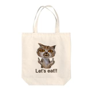 とてつもなくカワイイ猫 Tote bags