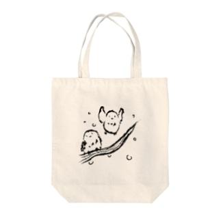 もふもふシマエナガ Tote bags