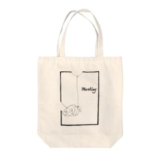 Marking -風船- Tote bags