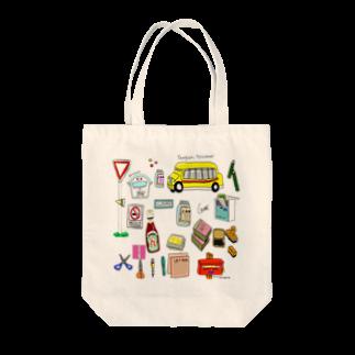 イラストレーター/津野田千里の世界のポスト Tote bags