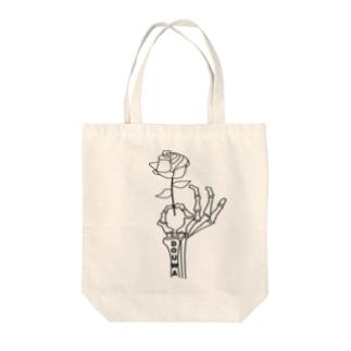 rose tote bag Tote bags