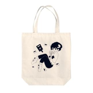 メェル Tote bags