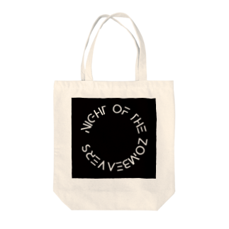NIGHT OF THE ZOMBEAVERZのNIGHT OF THE ZOMBEAVERZ Tote bags