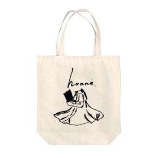 honneオリジナルシリーズ3 Tote bags