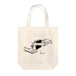 honneオリジナルシリーズ4 Tote bags
