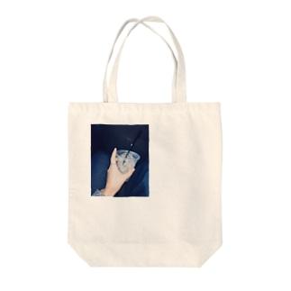 ほうじ茶ラテ Tote bags