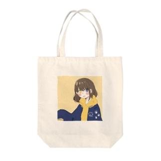 にゃんこがーる Tote bags